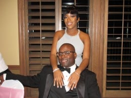 Wanisha and Mo, served as the Best man and Matron of Honor.