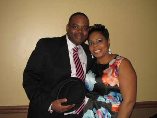 Grant and Aaronda Beauford, danced the night away during the reception.