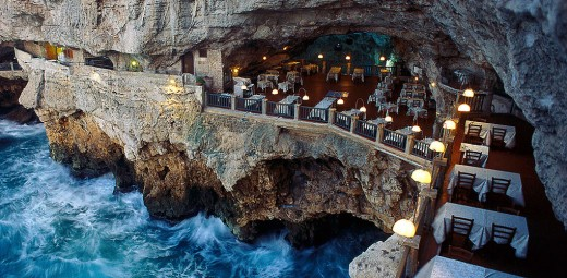 Grotta Palazzese Restaurant -  Puglia Italy