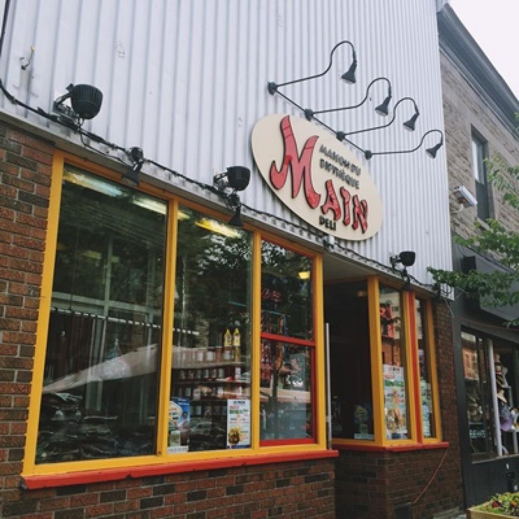 A unique deli in the world: Montreal's Main Deli Steakhouse
