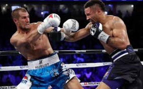 Ward and Kovalev put on a terrific bout that Andre Ward won via close unanimous decision.