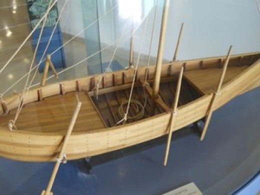 Example of boat used on Sea of Galilee