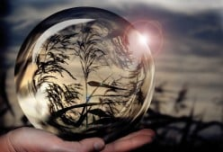 Photographing With a Crystal Ball