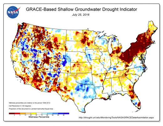U.S. Groundwater Drought