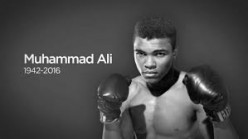 1960 Gold Medal winner and 3-time heavyweight champion, Muhammad Ali was much more than an athlete and another thing,,,He will be sorely missed by millions.