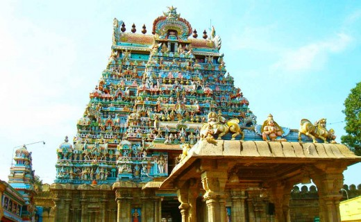 Dhavantari Temple at Tamilnadu