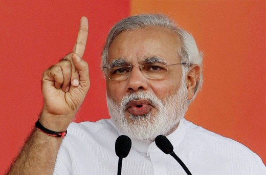 Narendra Modi as an orator