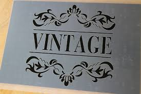 Wallpaper borders, wall signage, are just a sample of the number of stencil designs