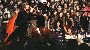 "The Rolling Stones perform ""Brown Sugar"" for the first time live at the altamont in 1969."