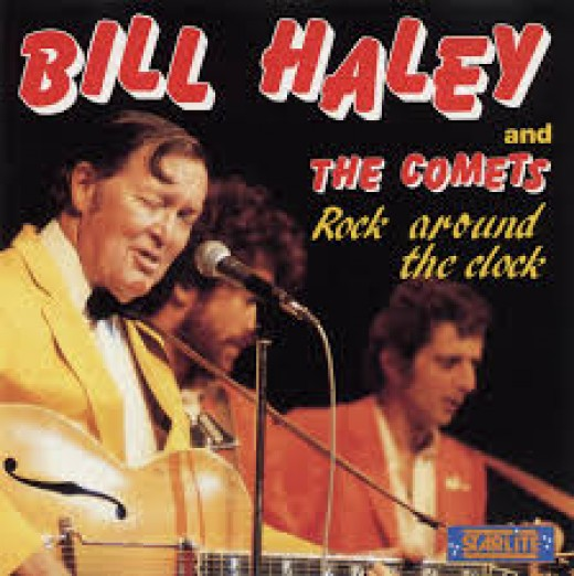 Bill Haley and the comets's around the clock 1955.