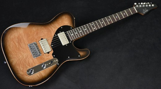 Suhr Classic T with burled maple top