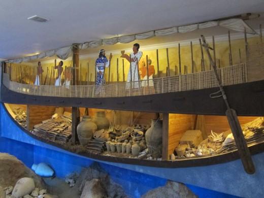Cutaway of Merchant Vessel