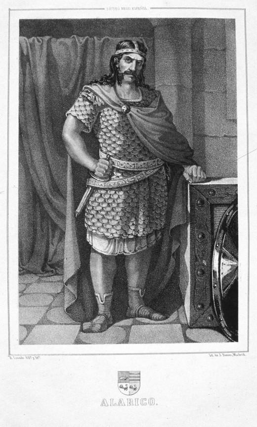 Visigoth King Alaric II