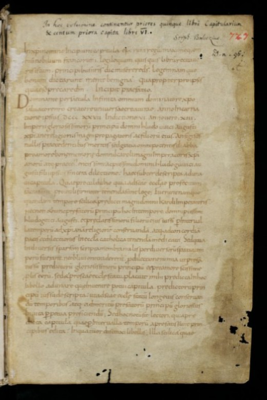 A Page From Benedictus Levita