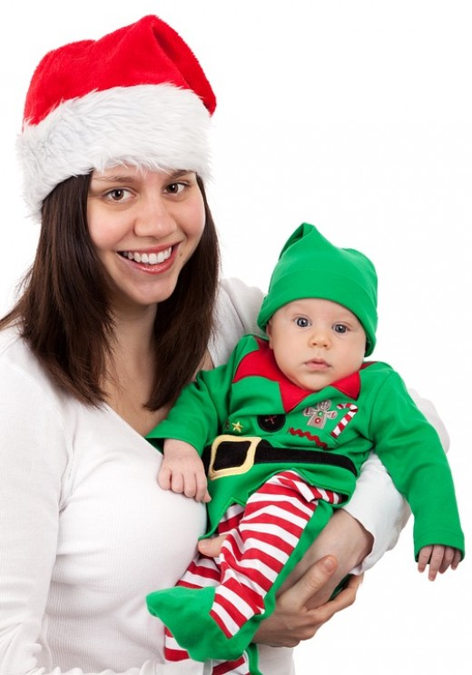 Have fun this Christmas with a very useful diaper bag.