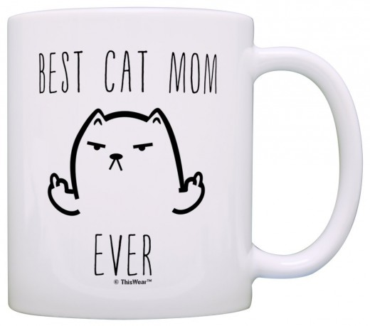 I love coffee and cats - here is the perfect mug for your kitty loving friend