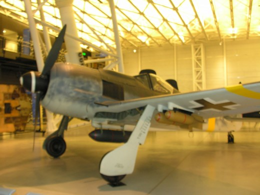 The FW 190 at the Udvar-Hazy Center, June 2016.