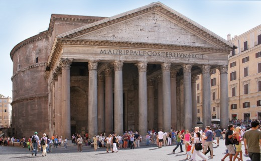 The Pantheon is after 2,000 years still at the same level as the surrounding buildings. No one seems to question this oddity. 2,000 years is clearly not that old.
