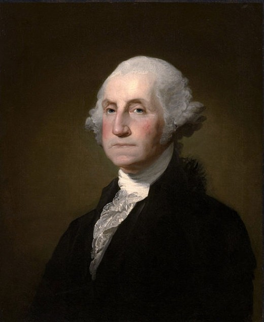 Gilbert Stuart [Public domain or Public domain], via Wikimedia Commons