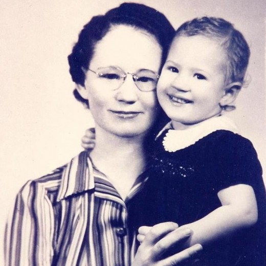 In 1941, Helen was a single mother supporting her infant daughter as well as her own mother.