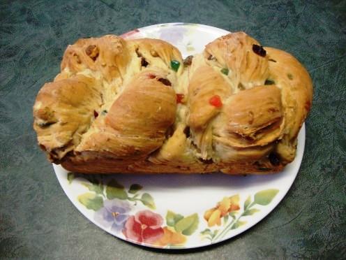 Unglazed Christmas Bread