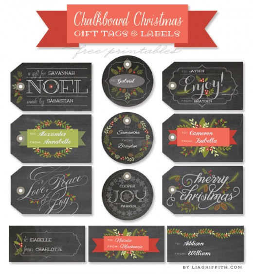 These chalkboard labels can be found on worldlabel...the blog.  They are interesting, don't you think?  And they are free printables for you.