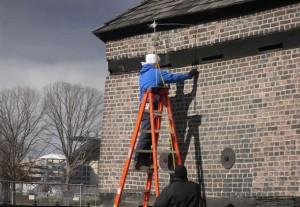 Fort Pitt Block House restoration