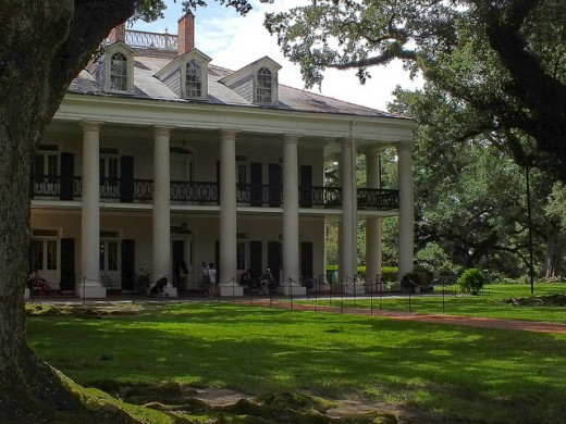 Oak Alley Plantation is one of the most haunted spots in Louisiana.