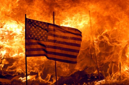 I have never set fire to the American flag, and I  do not want to start now, but when and if that becomes the only option left to defend it, please pass the matches.