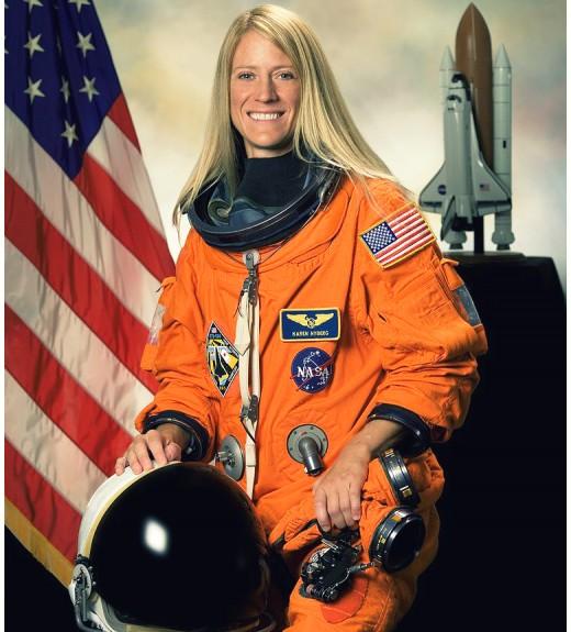 American astronaut Karen Nyberg
