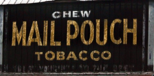 Big companies were known to utilize the sides and rooftops of rural barns to advertise their products by paying the owner of the barn a weekly or monthly fee