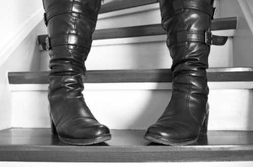This one is perfect for those wearing a short witch outfit. Show off your costume as well as these lovely, elegant-looking boots.
