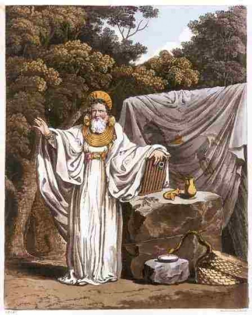 Déaglán, the Druid Priest