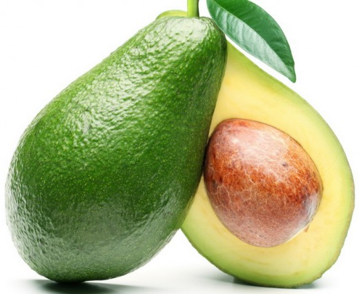 Avocados are good for the skin
