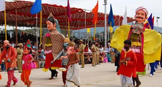 Dasara Dolls in Mysore