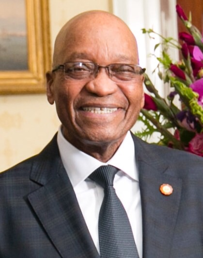 Jacob Zuma, President of South Africa from 2008 to date