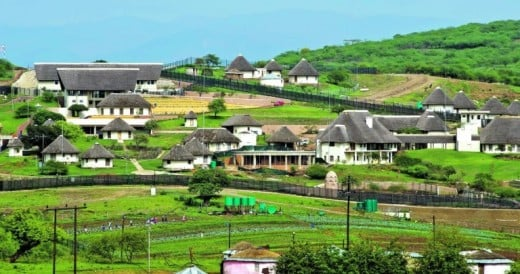 President Zuma's homestead in NKandla