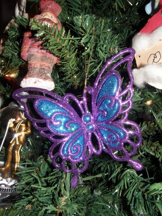 This purple butterfly represents my personal journey with lupus and chronic illness.