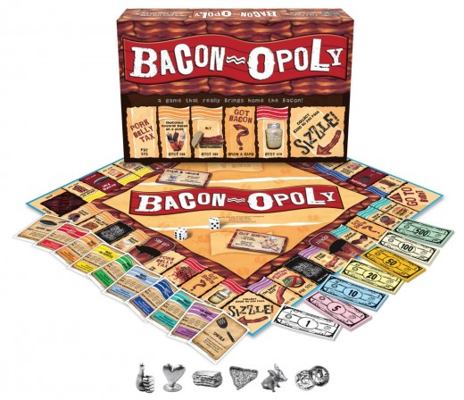There's a Monopoly game for just about everyone - including your bacon lover