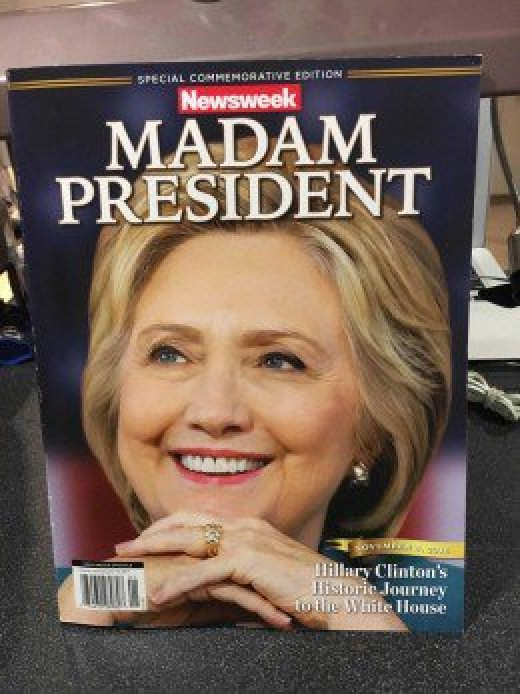 "Apparently Newsweek was expecting her to ""win big"" too."