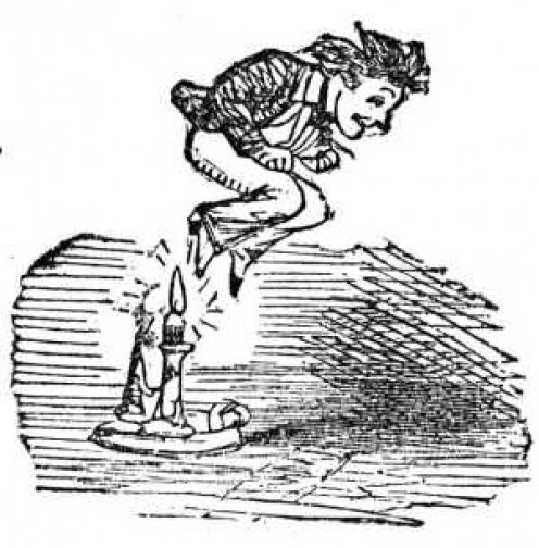 Jack be nimble, Jack be quick, Jack jumped over a candlestick.  -traditional nursery rhyme