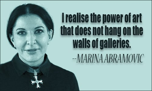 Marina Abramovic - Spirit Cooking
