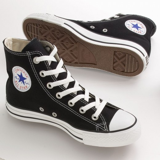 Converse All-Stars are a popular, classic choice for casual shoes.