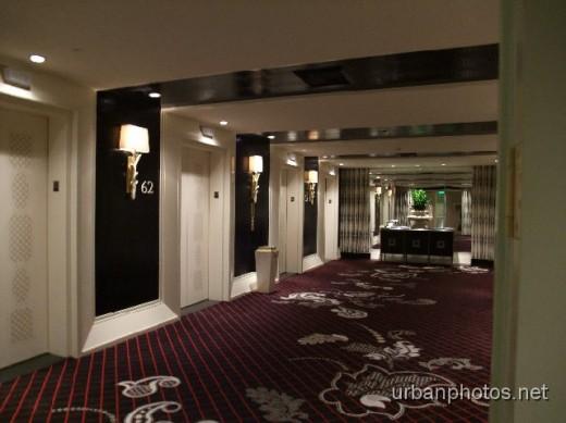 Floor 62 elevator lobby