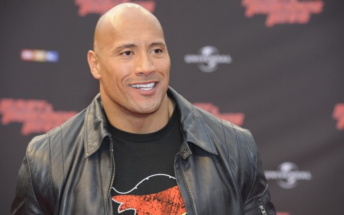 "Dwayne """"The Rock Johnson  University of Miami grad, former pro wrestler,  actor"