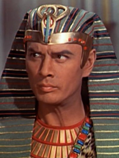 Yul Brynner from the  Solomon and Sheba trailer