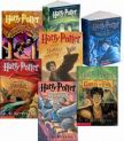 Harry Potter Book Series - Improves Reading Skills