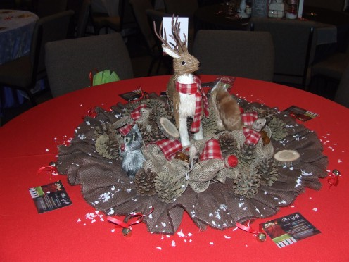 A Reindeer Christmas Table