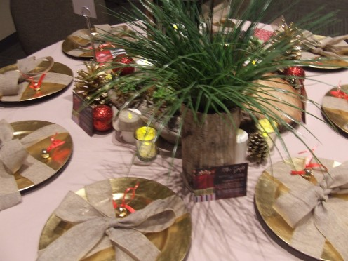 A stylish Christmas Table