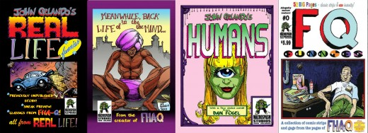 Upcoming comics from John Orlando and Outpouring Comics in 2017.